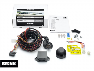 744217 Brink 7-Pins Wiring Kit with OEM Plug Discovery 4 & RRS L320 from 9/2009 - 8/2011